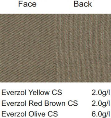 Everzol® CS - 敏感色系與磨毛織物之冷壓染染色 | Everlight Colorants