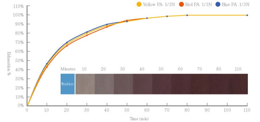 Excellent Compatibility (On-tone dyeing behavior) | Everlight Colorants